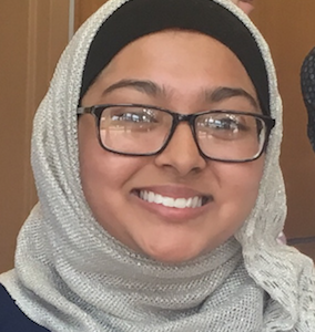 Congratulations to Asraa Ahmad for successfully completing the Student Science Training Program!